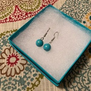 GORGEOUS NEW turquoise dangle earrings